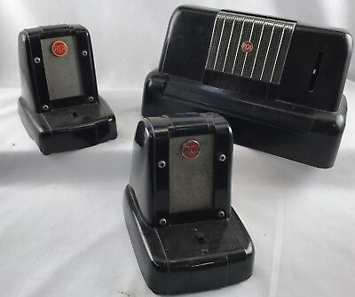 RCA Victor Vintage Bakelite Intercom System case and 2 remote speakers
