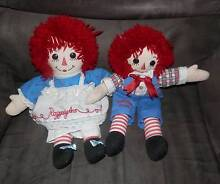 raggedy ann and andy dolls Morwell Latrobe Valley Preview
