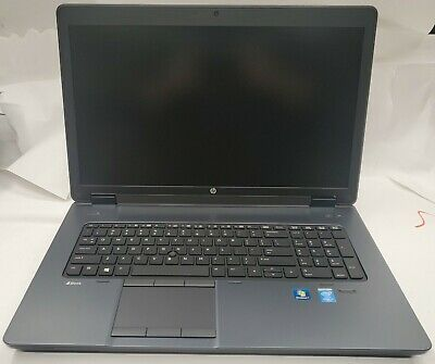 HP ZBOOK 17 INTEL CORE i7-4930MX 3.0GHZ 32GB RAM NO HDD LAPTOP [B1]