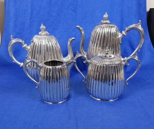 vintage 4 piece silverplate Hotel Ware Coffee service by Superior