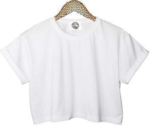 Crop t shirt ebay for The best plain white t shirts