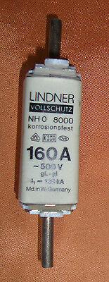 Lindner Sicherungseinsatz 160 A 500 V NH 0 Vollschutz   3071