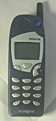 Nokia Vintage cell phone 5165 Cingular Wireless Collectable (Blue)