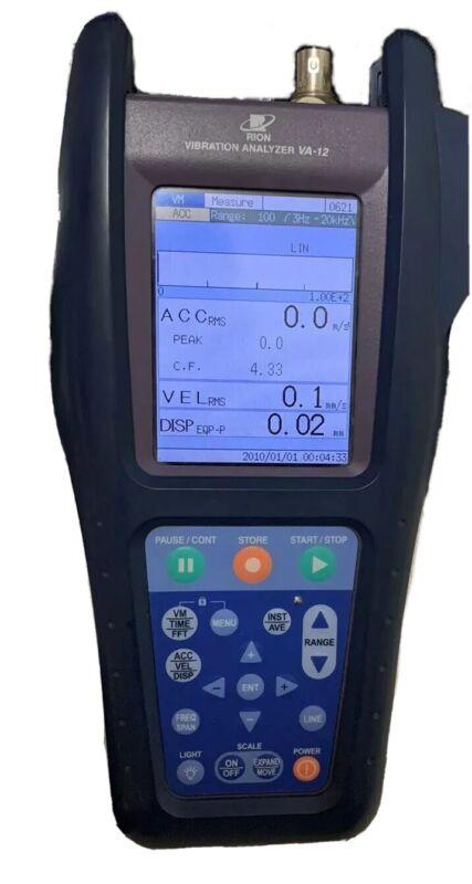 Rion VA-12 VA 12 Vibration Analayzer -analyser, Device Only