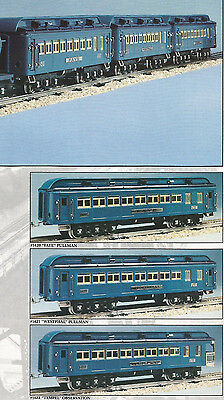 LIONEL CLASSIC STANDARD GAUGE 13408 BLUE COMET 3 CAR SET   MINT/OBS/MC