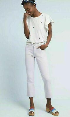 NWT ANTHROPOLOGIE PILCRO HIGH RISE BOOTCUT CROP JEANS 27 28 29 32 High Rise Bootcut Jeans