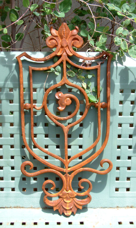 ROYAL CREST Cast Iron Wrought Garden Decorative Gate