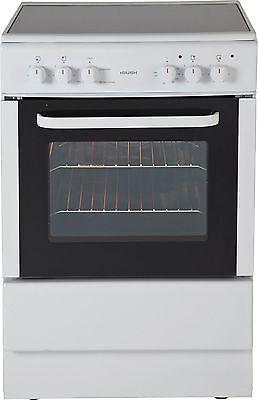 Bush BESC60W Free Standing 60cm Single Electric Cooker - White -From Argos ebay