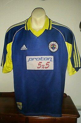 4/5 Fenerbahce adults L 1999 -00 rare football shirt jersey trikot ADIDAS Proton