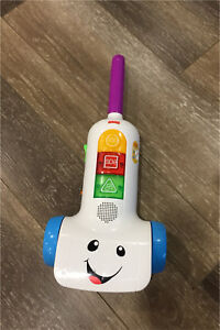 Fisher Price Laugh & Learn Toy Vacuum