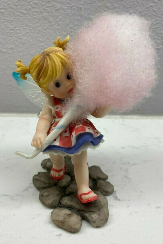 My Little Kitchen Fairies Cotton Candy Figurine RETIRED