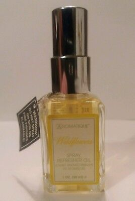 Aromatique Wildflowers Spray Refresher Oil 1 fl oz / 30ml Spring Floral Fresh
