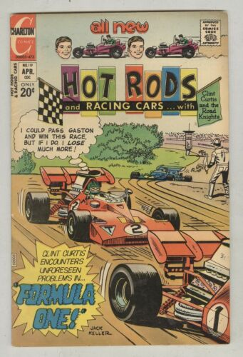 Hot Rods and Racing Cars #119 April 1973 FN- Formula One