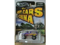 Hot Wheels Limited Edition 1//12,500 The Lost Cars of China Purple Chevy Blazer