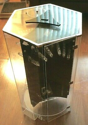 Stand-up Display Jewelry Case-rotates-3 Sides-no Key-much Capacity-pick Up Only