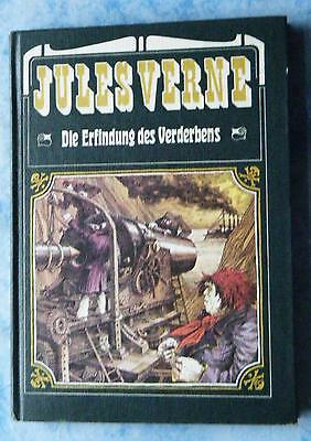 Jules Verne Die Erfindung des Verderbens illustriert Peter Muzeniek 1982 DDR