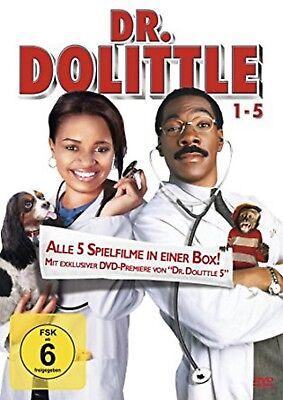 Dr. Dolittle 1-5 NEU OVP 5 DVDs