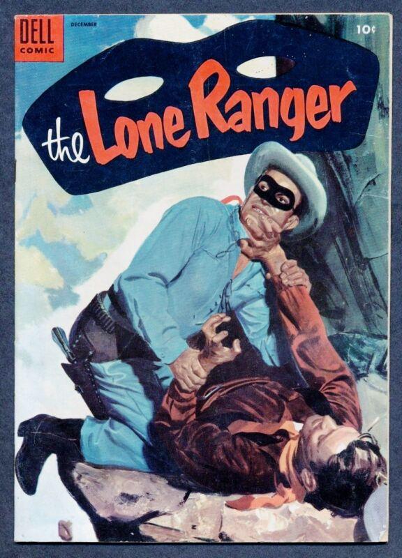 The LONE RANGER Vol. 1, #78 VF(-), 1954, Dell