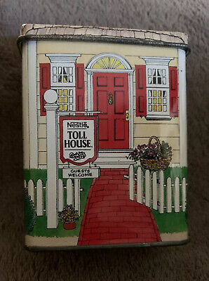 Vintage MiniHouse Nestle Toll House Tin made in England