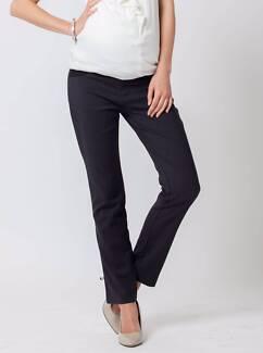 BNWT Maternity Work Pants/Trousers size M, Dark Grey