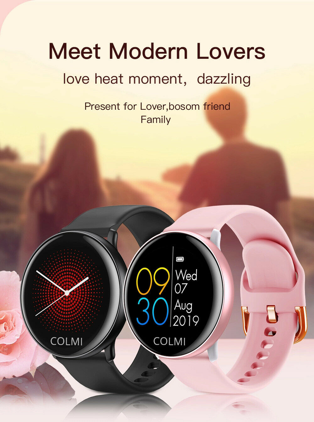 COLMI SKY 2 IP68 Smartwatch Activity Fitness Tracker iOS Android BT Puls