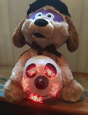 Sound N Light Animated Musical Dog WithSkull Message Fan Halloween Witch Doctor (Halloween Music Witch Doctor)