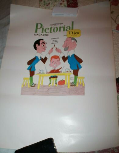 Pictorial & Tview Magazine 1960 Cover Proof Art  Making a Wish Eddie Hodges