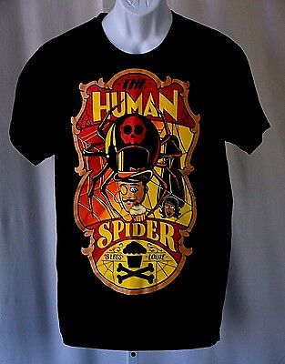 "Johnny Cupcakes The Human Spider 8 Legs Louie Black Large 42"" T Shirt 253 / 300"