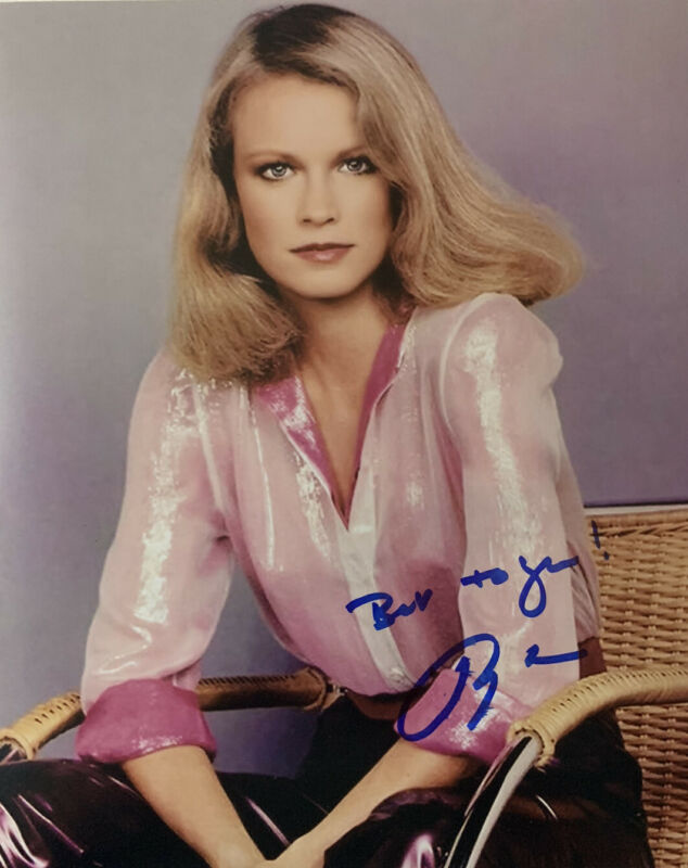 SHELLEY HACK HAND SIGNED 8x10 PHOTO CHARLIES ANGELS AUTOGRAPH AUTHENTIC COA