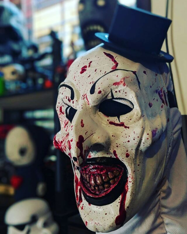 The Terrifier Mask Art the Clown Mask horror