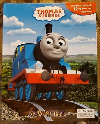 Thomas The Train & Friends My Busy Book Play Set 12 Figurines Playmat