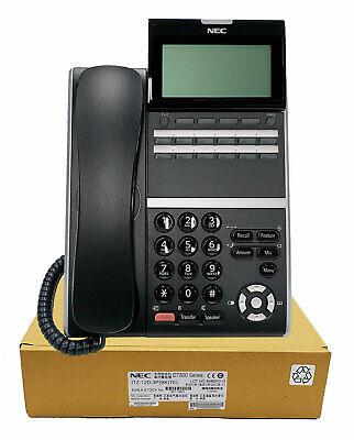 Nec Itz-12d-3 Ip Phone Black Dt830 Brand New 1 Year Warranty