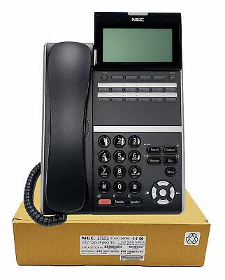Nec Dtz-12d-3 Digital Phone Black Dt430 Brand New 1 Year Warranty