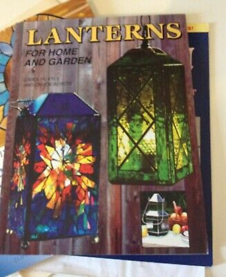 Stained Glass Designs Patterns Booklets. Stained Glass Lanterns. Tiffany Copper