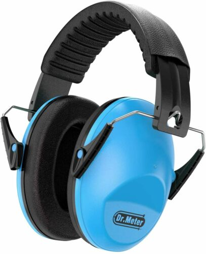 Dr.meter Kids Ear Protection, Noise Blocking Ear Muffs with Adjustable Head Band