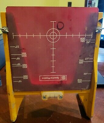 Pipe Laser Target 936 Trimble Spectra Physics Spectra Precision Topcon Agl