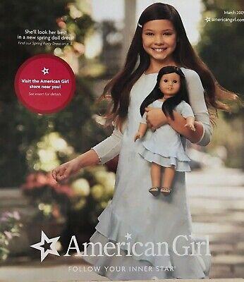 American Girl Catalog March 2009 Just Like You Meet Chrissa GOTY Julie Ivy - Girl Catalog