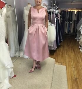 NEW never worn Alfred Sung Dress and Adrianna Shoes
