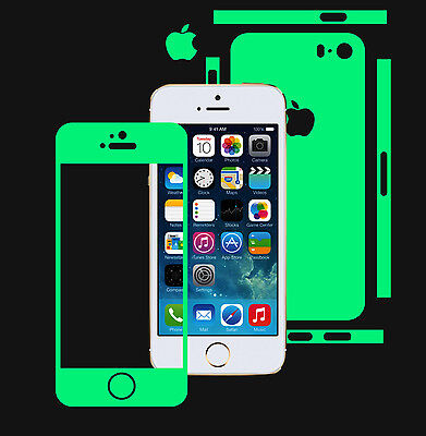Glow in Dark Skin Protector,Full Body Vinyl Decal Case Wrap,Apple Iphone 5S | SE Skins Full Body Protector