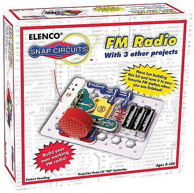 ELENCO Snap Circuits SCP-02 FM Radio Kit Ages 8+  VERY POPULAR
