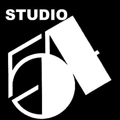 Andy Warhol Style Studio 54 Pop# 5  Art Canvas 17 x 17