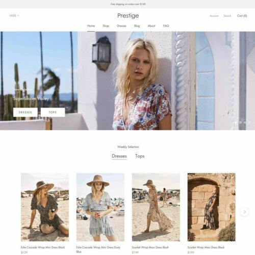 Prestige Shopify Theme | Fast Delivery | $180 Retail
