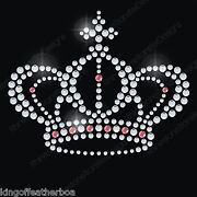 Rhinestone Crown Applique