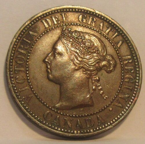 1886 Canada Large Cent * Canadian Penny