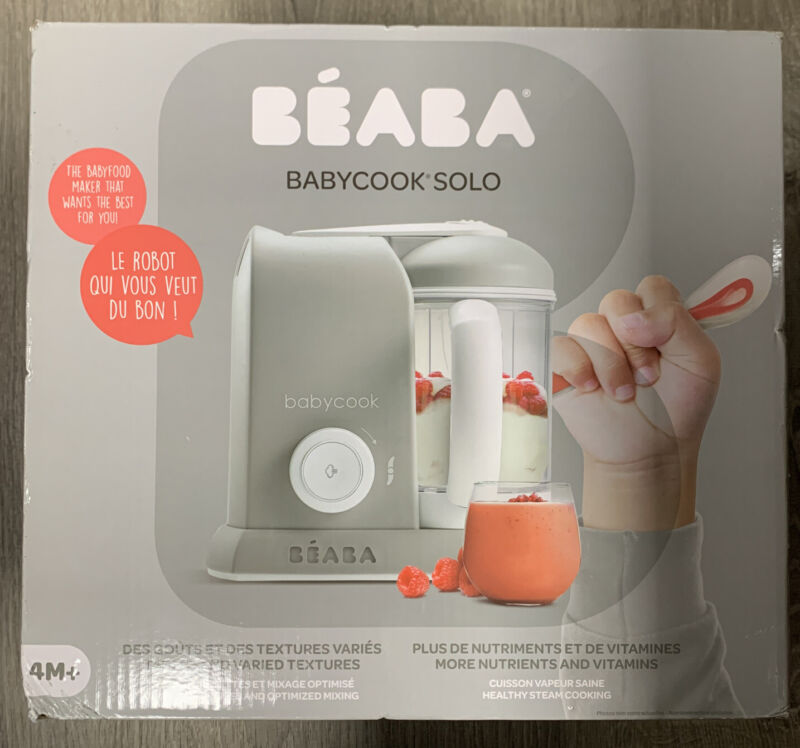 New Beaba 912509 Babycook 4.5 Cups Cooker and Blender BRAND NEW