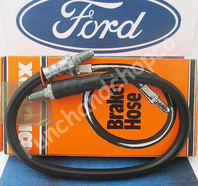 FRONT BRAKE FLEXI HOSE PAIR for FORD CORTINA MK2  66-70 BORG /& BECK