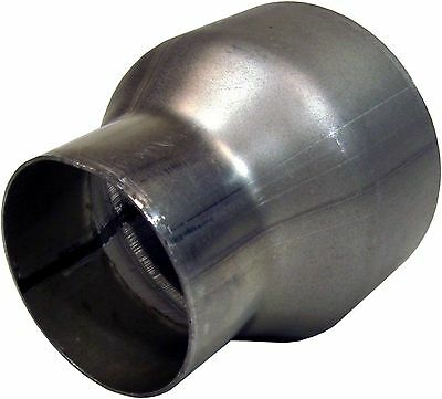 MBRP UA2005 Diesel Exhaust Adapter All Trucks 35in OD to 5in ID Aluminized