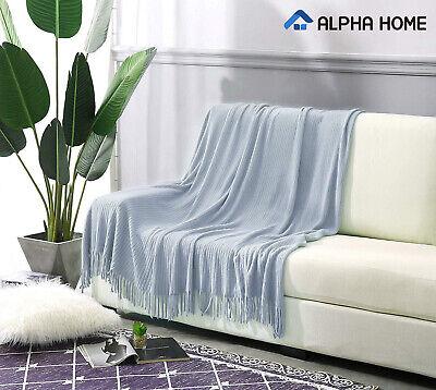 ALPHA HOME Throw Decorative Blanket 50