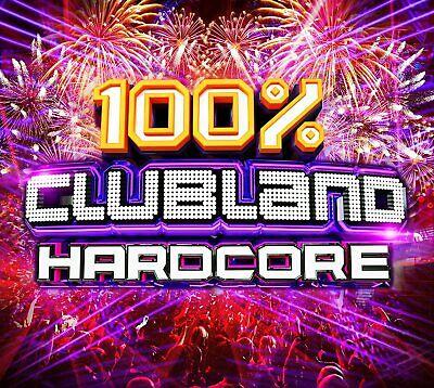 100% Clubland Hardcore New 4 CD Box Set