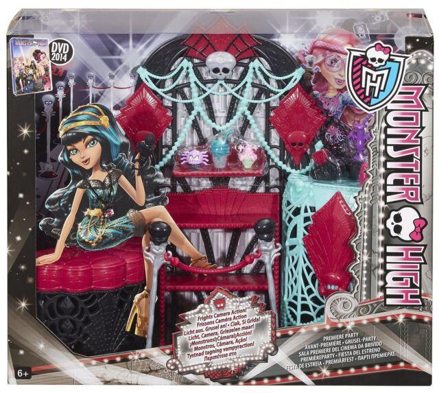 Mattel Monster High Licht aus Grusel an Grusel-Party Garderobe,Zubehör BDD91 neu